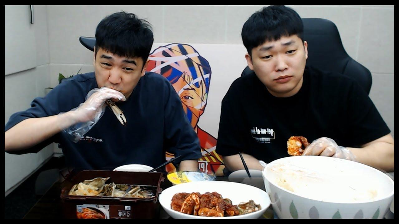 킴성태도 밥 두 그릇 먹게 되는 게장먹방