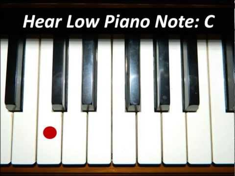 Hear Piano Note - Low C