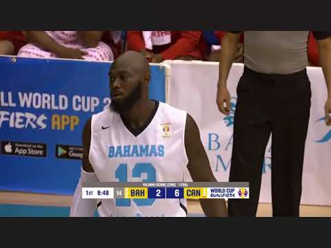 Bahamas VS Canada Fiba Basketball World Cup China 2019