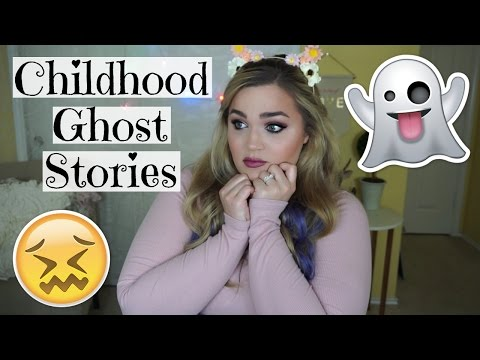 Childhood Ghost Stories   Paranormal Storytime Collab with Jessii Vee