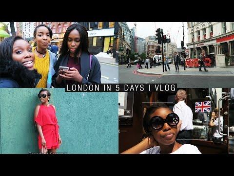 Travel Vlog: London in 5 Days | IamDodos