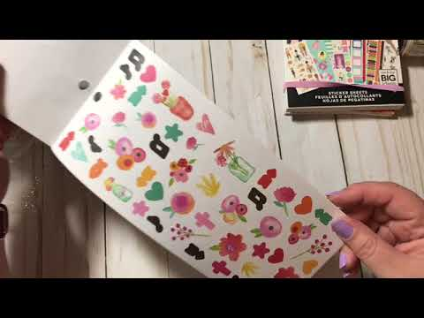 Planner Sticker Books MORE Haul! (Target, WalMart, Michaels)