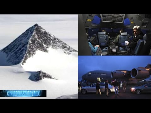 HOLD ON!! Secretary Of State Visits Alien UFO BASE Antarctic Pyramid!? Secret Agenda! 11/11/2016