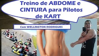 #4 - Treino de ABDOME e CINTURA para Pilotos de Kart