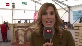 Maurer-Schweizermeisterschaften an den SwissSkills 2018 in Bern