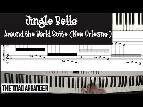 Jacob Koller - Jingle Bells Around the World Suite - New Orleans MIDI/Sheet Music Version