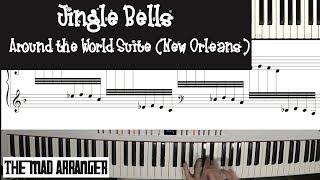 Jacob Koller - Jingle Bells Around the World Suite - New Orleans MIDI/Sheet Music Version