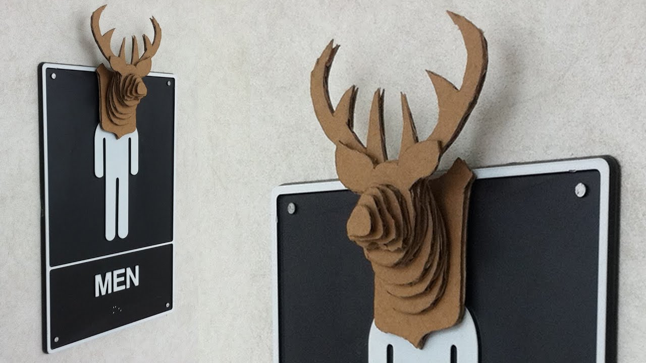 How to mount a cardboard buck pitw video youtube maxwellsz