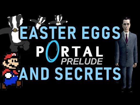 Portal Prelude Easter Eggs And Secrets