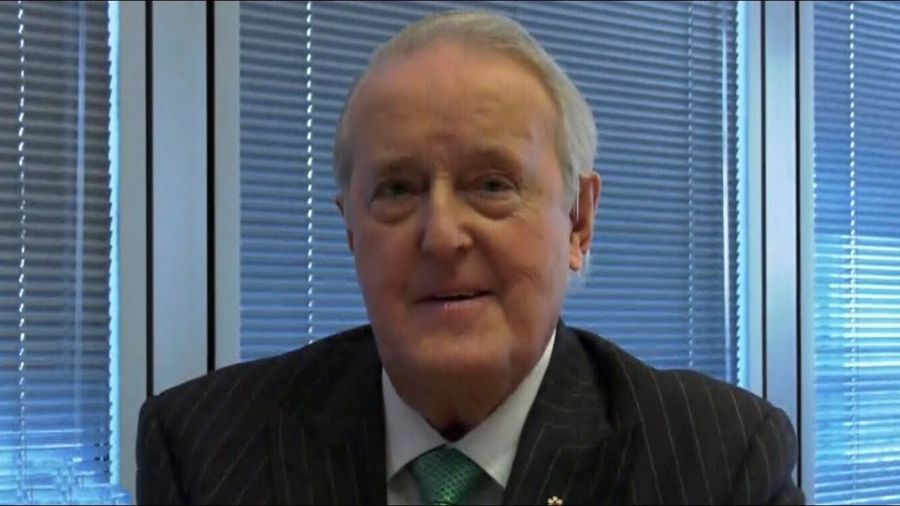 Download Brian Mulroney weighs in on the state of Canadian politics