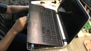 видео Не включается ноутбук HP Pavilion dv6000 ~ сервисный центр Hp