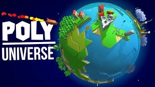 Poly Universe - Galactic Colony Management Sim - ALIENS INCOMING! - Poly Universe Gameplay Part 1