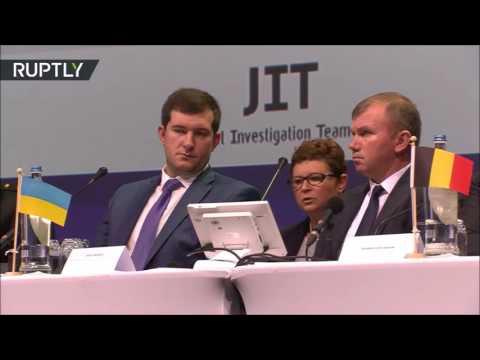 MH17: Пресс-конференция Международной следственной группы