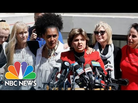 Bill Cosby Accusers Speak After Guilty Verdict: 'We Are Not Going Away' | NBC News