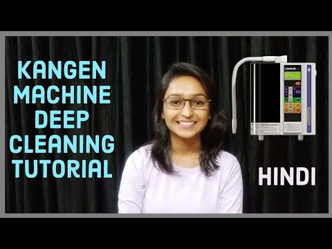 Kangen machine Deep cleaning process in detail (hindi) SD 501 & Jr II