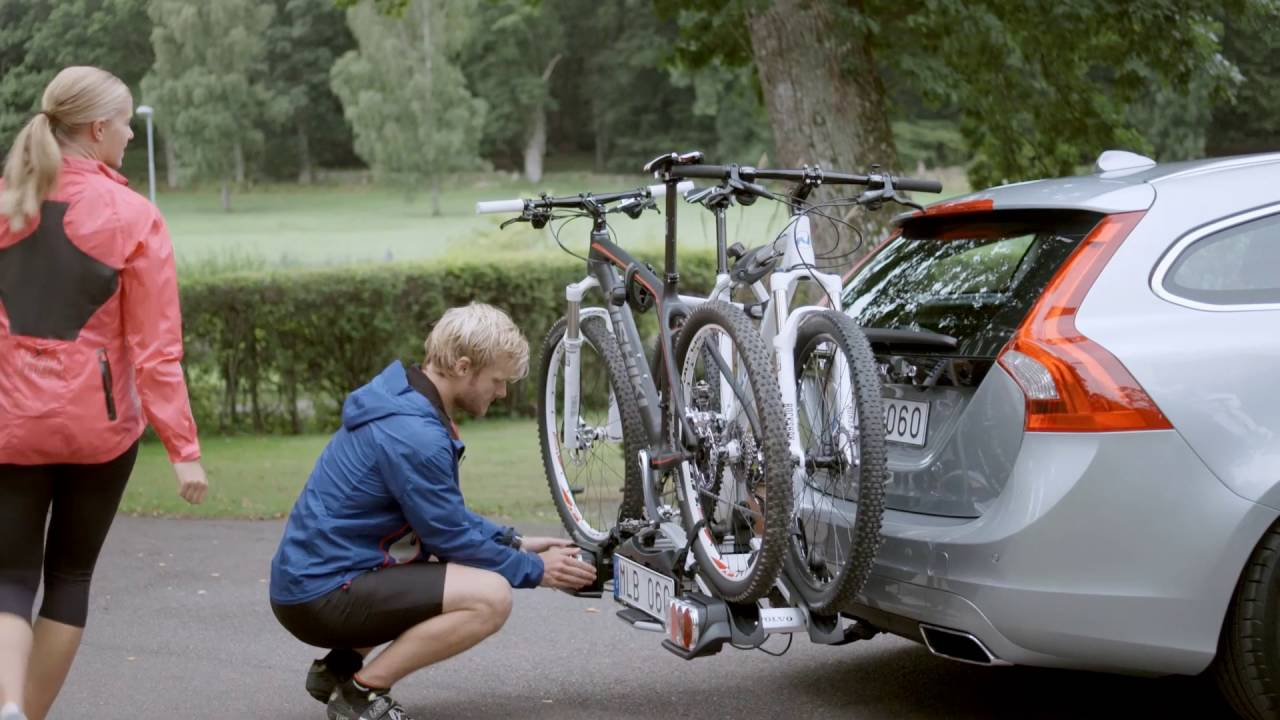 3 Bike Carrier (Towbar Mounted): How to Install - FAWCETTS VOLVO Of Newbury