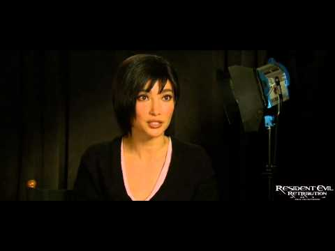 Resident Evil Retribution  with Li BingBing Ada Wong