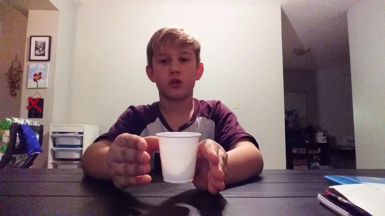 how to make a cup float