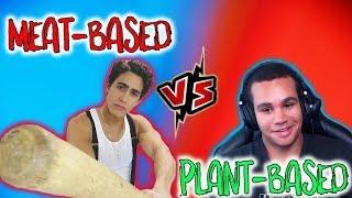 Vegan Gains -vs- Frank Tufano | Diet Wars | Plant Based or Meat Based debate thumbnail