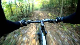 Downhill Mountain Biking on a Farm in Kentucky