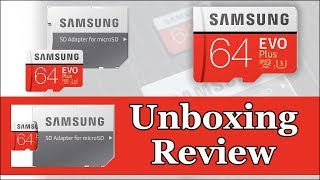 Samsung Memory Card with SD Adapter | Unboxing & Review