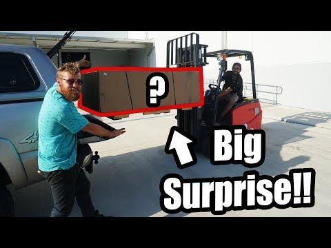 Picking Up My BIG SURPRISE!! (It's SO Sick!)