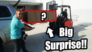 Picking up My BIG SURPRISE!! (It's SO Sick!)