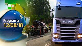 Dia dos Pais, acidentes com produtos perigosos e Nova Geração Scania | BRC 12/08/18