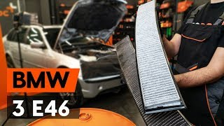 Air conditioner filter installation BMW 3 SERIES: video manual
