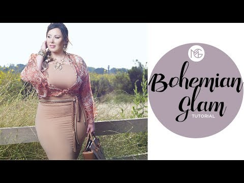 Bohemian Glam Tutorial: Hair, Makeup, and Outfit | Makeup Geek thumbnail