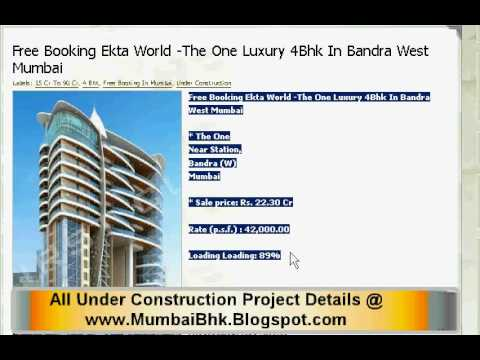 Reputed Mumbai Builders (Developers) 79 Under Construction Project List :Westcoast Consultancy