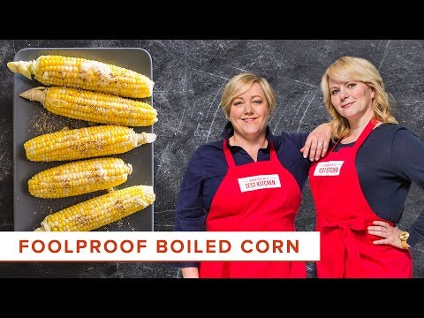 How to boil corn on the cob perfectly