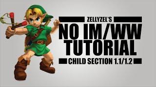 Ocarina of Time No IM/WW Speedrun Tutorial: Child Section 1.1/1.2