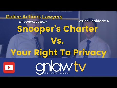In conversation: Ep 4 Snooper's Charter Vs. Your Right To Privacy