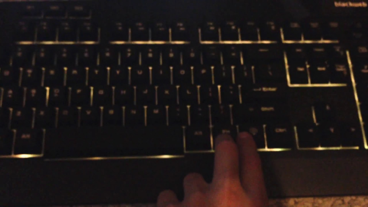 NEW KEYBOARD!!!!!!! Blackweb Gaming keyboard