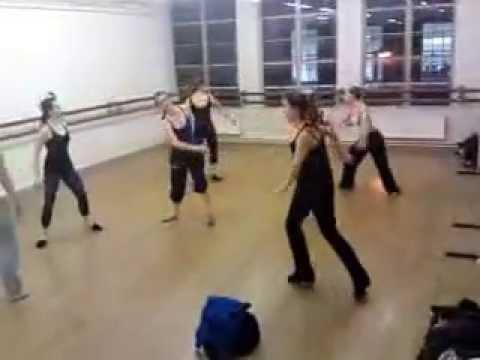 Adam Kemp Choreography / Rehearsing my early works