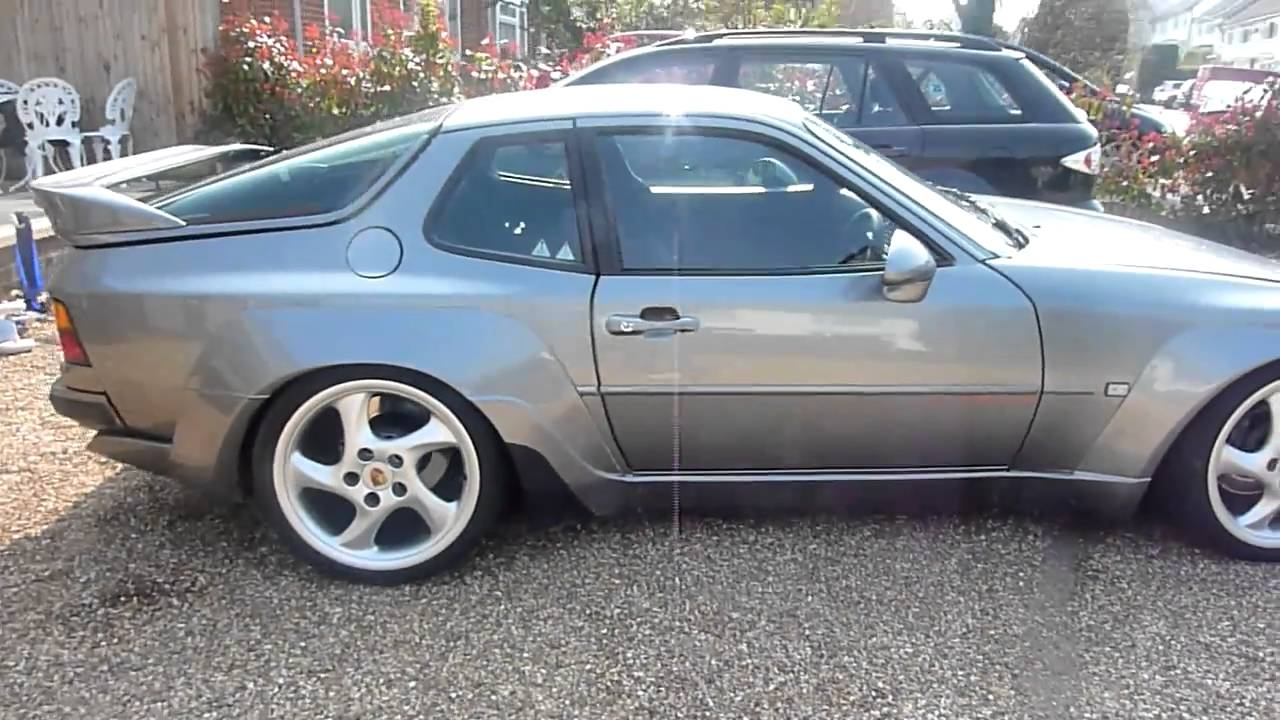 Porsche 944 / 951 turbo trackday car (part 3 for sale) - YouTube