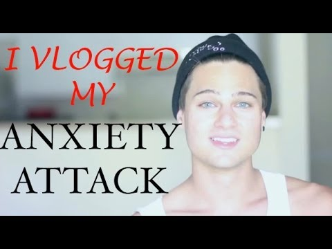 I Filmed My Anxiety Attack/Panic Attack (LIVE)
