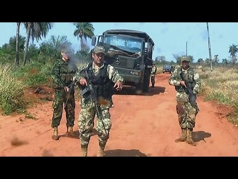 Eight soldiers have been killed in Paraguay after their squad was ambushed by suspected rebels…