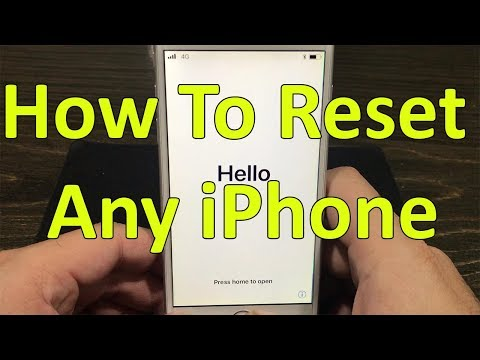 How to Reset iPhone To Factory Default | Urdu / Hindi | Kuch Na Kuh, How To