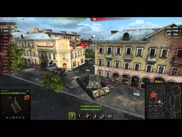 World of Tanks - L0rdT és a Maus 2 csatája: 13k Sebzés, 10 kill, Kolobanov medál [HUN] [M]