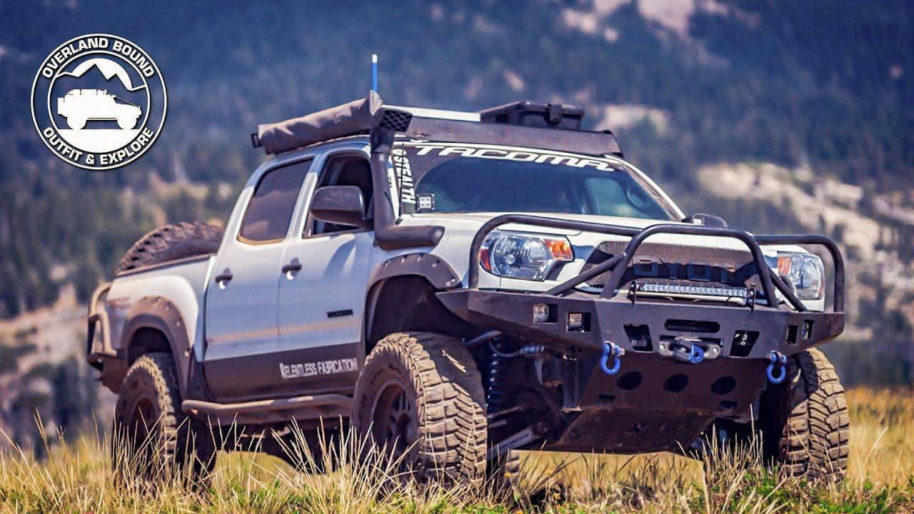 2014 Long Travel Toyota Tacoma Rig Walk Around Part 1