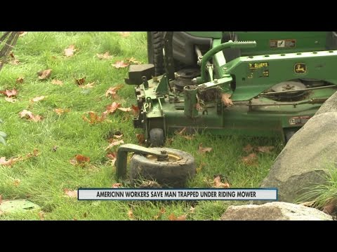 Lawn Mower Accident 5pm 9-28-15