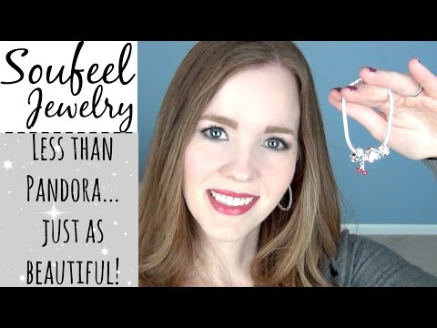 Soufeel Jewelry Haul & Review | Personalized Jewelry & Pandora-Style Bracelets for LESS!