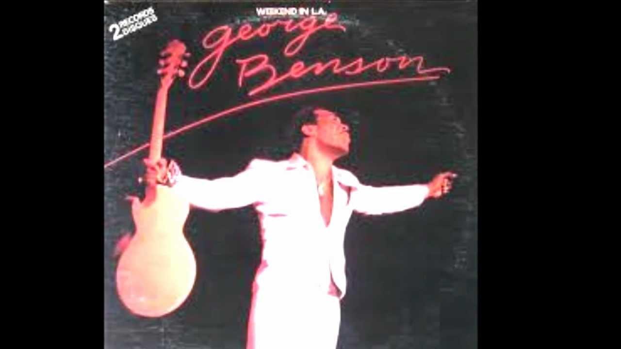 george benson on broadway album version youtube