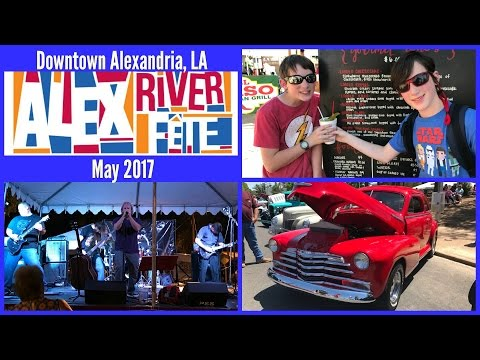 LOUISIANA LIFE: Alex River Fete 2017 - Awesome Music, Great Food, Classic Cars & MORE!