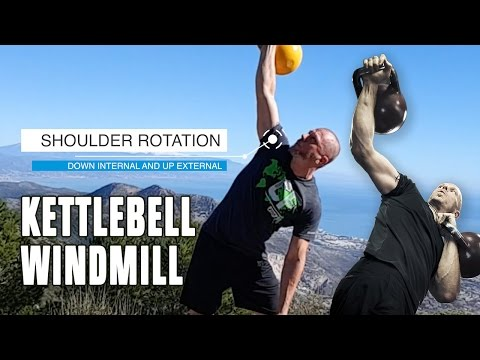Shoulder mobility and stability: kettlebell windmill