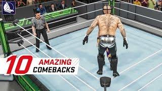 WWE 2K19 Top 10 Best Comebacks (Animations)