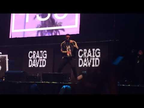 Craig David - Heartline - Free Radio Live 2017
