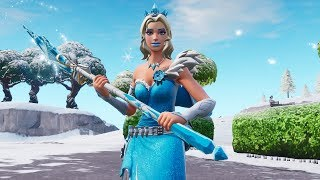 "ELSA'S NEW SET OF FROZEN? NEW LEGENDARY SKIN ""SPARKLE""! Fortnite"
